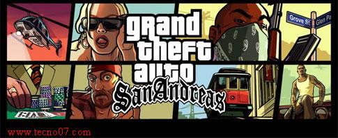 فتاة ترتدي نظارة لعبة GTA San Andreas