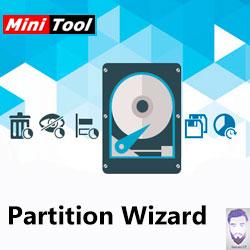 برنامج MiniTool Partition Wizard في تقسيم الهاردسك مع تنظيف الباد سيكتور