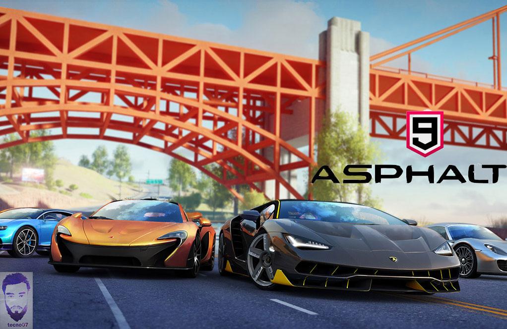 لعبة : Asphalt 9: Legends في اقوى العاب الأندرويد بجرافيك عالي HD.