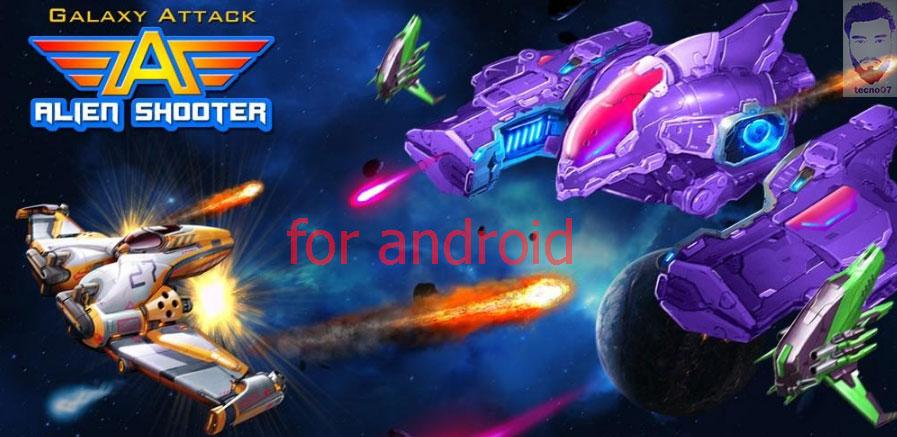 العاب اندرويد خفيفة Galaxy Attack: Alien Shooter