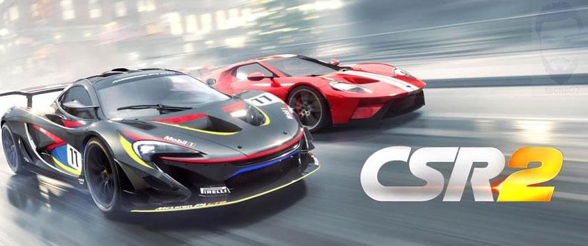 لعبة CSR2 اقوى العاب الأندرويد بجرافيك عالي HD.