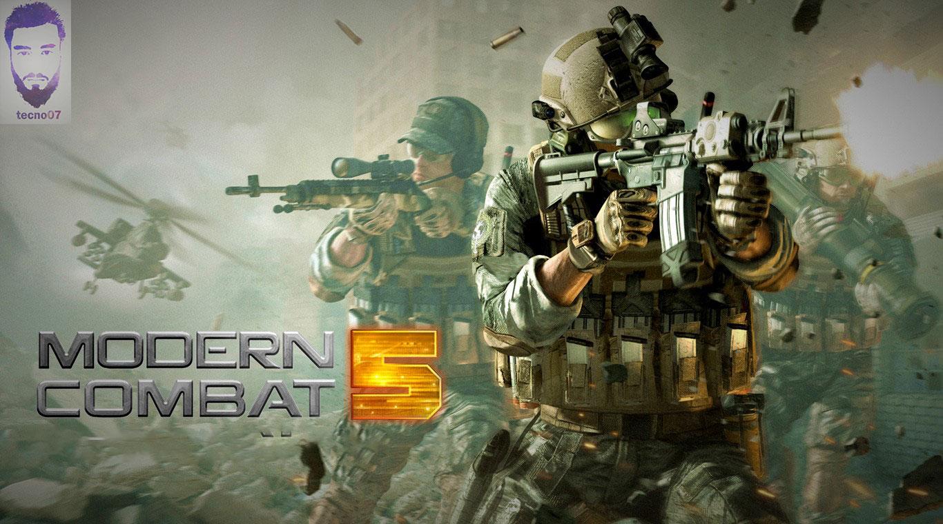 لعبة : modern combat 5 في اقوى العاب الأندرويد بجرافيك عالي HD.